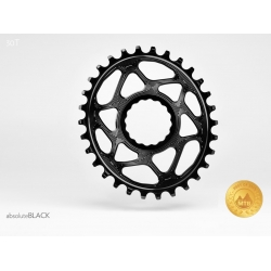 Zębatka Absoluteblack Oval Race Face Cinch Direct Mount offset 6mm czarny 32